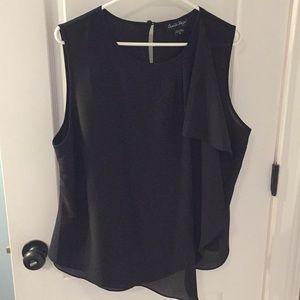 NWOT black blouse size medium